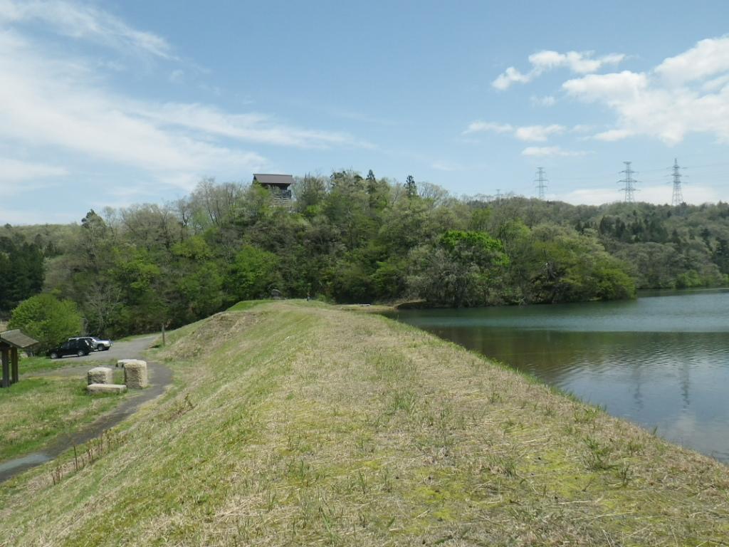 茶臼山城跡公園